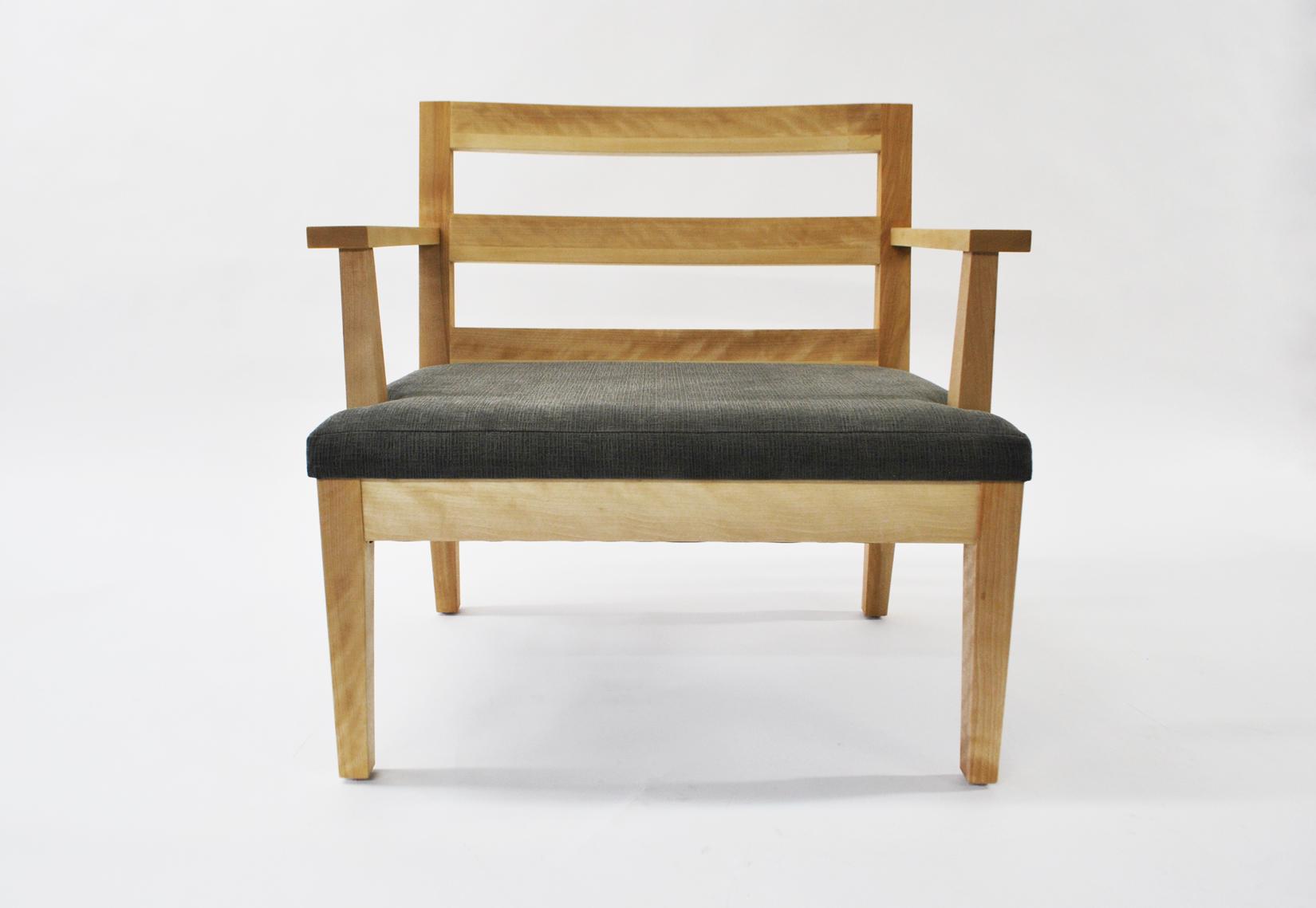 fauteuil Amik ébénisterie
